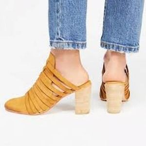 Free People NEW Byron Strappy Mule 39